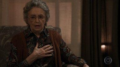 Cido volta para a casa de Samuel e Adinéia lamenta - Adinéia se emociona quando Cido afirma que gosta da sogra