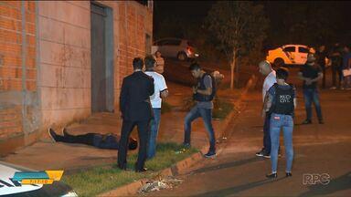 Polícia faz reconstituição do assassinato de jovem em Londrina - Dois guardas municipais são acusados de participação no crime