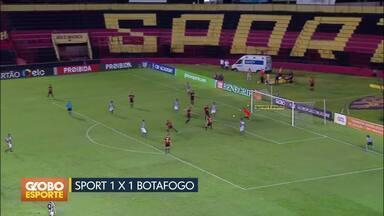 Bom Dia Df Brasileirao Os Gols De Sport X Botafogo E A Corneta Da Rodada Globoplay