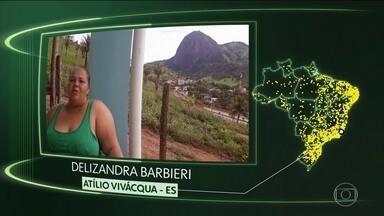 Vídeos de Atilio Vivacqua, Rio Tinto, Aiuaba, Terra Boa, Capinzal, Paramirim e Bady Bassit - Moradores de Atílio Vivacqua (ES), Rio Tinto (PB), Aiuaba (CE), Terra Boa (PR), Capinzal (SC), Paramirim (BA) e Bady Bassit (SP) dizem o que querem para o futuro.