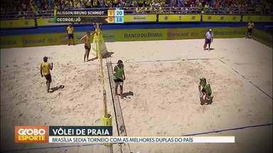 Brasileirão feminino de futebol e vôlei de praia em Brasília - Minas vence pela série A2 do brasileirão. Melhores duplas do país vão disputar torneio de vôlei de praia na capital.