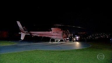 Polícia de São Paulo apreende helicóptero usado para transportar drogas - Três pilotos suspeitos foram presos. Um deles já tinha sido condenado pelo mesmo crime.