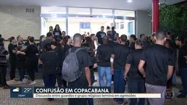 Guardas municipais foram afastados - Polícia investiga o crime de lesão corporal