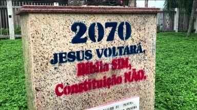 Confusão entre GMs e evangélicos termina com 12 feridos no Rio - Um confusão entre guardas municipais e um grupo da Igreja Pentecostal Geração Jesus Cristo terminou com 12 feridos, na noite de quarta-feira (25), um deles em estado grave. Os fiéis forem levados para delegacia acusados de pichar locais públicos.