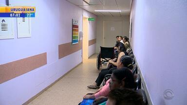 Centro Obstétrico de Santa Maria registra ocorrência policial após superlotação - Assista ao vídeo.