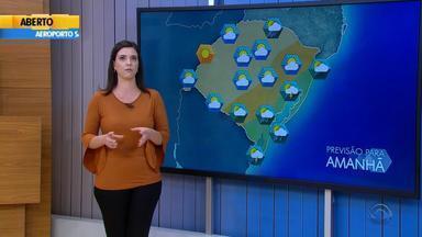 Tempo: RS pode receber chuva neste sábado (28) - Veja como fica a previsão.