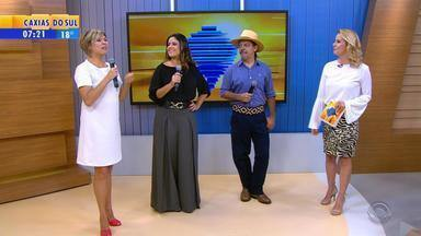 RBS TV tem novas atrações na programação matinal de domingo - A partir do dia 29 de abril, novidades no Galpão Crioulo e o novo programa Compartilhe RS passam a integrar a grade da emissora
