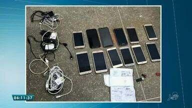 Policiais e Ministério Público descobrem diversos objetos e aparelhos em operação na CPPL3 - Saiba mais em g1.com.br/ce