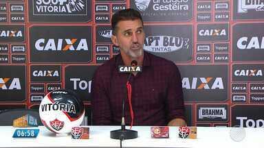 Vitória: Mancini fala sobre o atual momento do time - Confira as notícias do rubro-negro baiano.