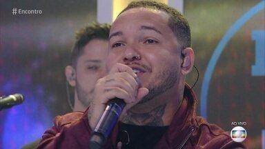 Imaginasamba canta 'Pretexto' - Grupo abre o 'Encontro' com música'