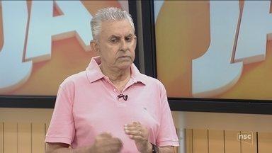 Roberto Alves fala sobre Wilfredo Brillinger renunciar à presidência do Figueirense - Roberto Alves fala sobre Wilfredo Brillinger renunciar à presidência do Figueirense