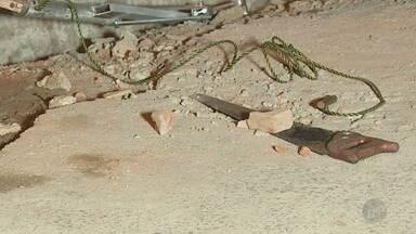 Vazamento de gás na Avenida Princesa d'Oeste assusta moradores de Campinas - Um serrote foi encontrado no local. Trecho da avenida precisou ser interditado para os reparos.