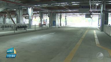 Prejuízo: Estação Pituaçu continua vazia após denúncia do BMD - Os comerciantes reclamavam da falta de passageiros no local.
