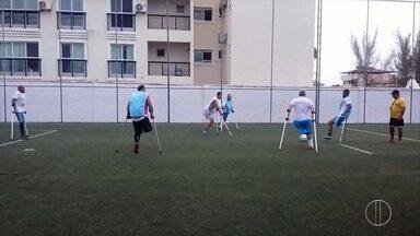 Time de Rio das Ostras, RJ, participará de competição nacional de futebol para amputados - Assista a seguir.
