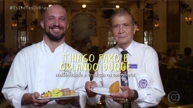 Angélica apresenta Orlando Duque, antigo funcionário de tradicional confeitaria - Funcionário há 65 anos, Orlando conta histórias da confeitaria mais antiga do Rio