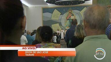 Taubaté tem festa para celebrar dia de São José - Comemoração é na paróquia que leva o nome do santo.