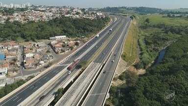 Rota das Bandeiras libera marginal da Rodovia Dom Pedro perto do Carrefour, em Campinas - Confira onde o tráfego pode ficar melhor nos próximos dias.