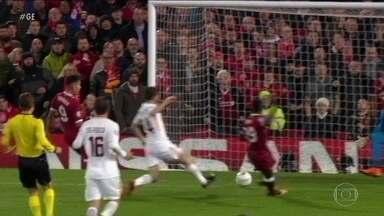Roma precisa vencer o Liverpool para seguir para a final da Liga dos Campeões - Roma recebe o Liverpool pela semifinal da Liga dos Campeões e precisa vencer por três gols de diferença para chegar na final.