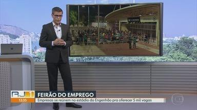 RJ1 - Íntegra 01 Maio 2018 - O telejornal, apresentado por Mariana Gross, exibe as principais notícias do Rio, com prestação de serviço e previsão do tempo.