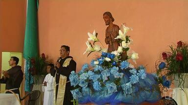 Fiéis celebram Dia de São José Operário, o padroeiro dos trabalhadores - Uma missa ocorreu na manhã deste 1ª de maio na Paróquia São José.