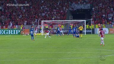 Inter completa três jogos sem balançar as redes - Assista ao vídeo.