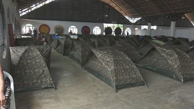 Novo abrigo deve abrigar 500 venezuelanos em Boa Vista - Abrigo é temporário.