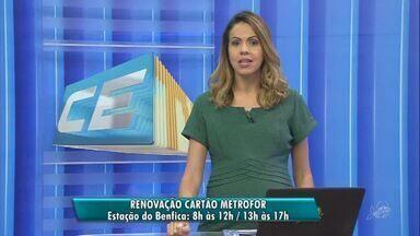 A partir desta quarta estudantes podem renovar o cartão e pagar meia no metrô de Fortaleza - Confira mais notícias em g1.globo.com/ce