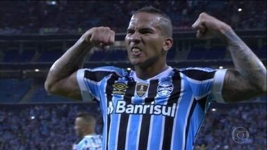 Confira como foram os brasileiros na Libertadores nessa terça - Grêmio assume a liderança do Grupo 1 e Santos se classifica pras oitavas.