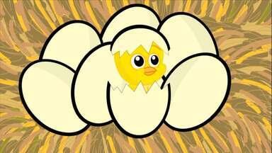 Pintinho Amarelinho - Bob Zoom é uma formiguinha azul divertida e charmosa, estrela de uma série de vídeos musicais.