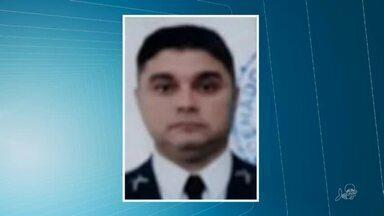 Corpo de policial militar baleado por policial civil é velado em Fortaleza - Saiba mais em g1.com.br/ce
