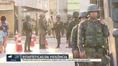 Forças de segurança ficarão em 11 comunidades por tempo indeterminado - Um casal foi preso em uma boca-de-fumo na Favela Vila Vintém, na Zona Oeste. Com eles, foram apreendidos drogas e material para embalar maconha.