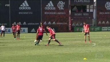 Sem Diego, Flamengo encerra preparação para duelo contra a Ponte Preta - Sem Diego, Flamengo encerra preparação para duelo contra a Ponte Preta.