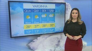 Confira a previsão do tempo para esta quarta-feira (2) no Sul de Minas - Confira a previsão do tempo para esta quarta-feira (2) no Sul de Minas