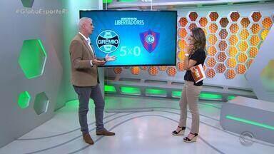 Maurício Saraiva analisa goleada do Grêmio diante do Cerro pela Libertadores - Assista ao comentário.