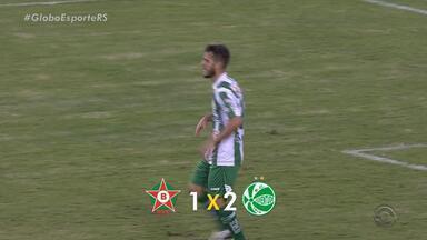Fora de casa, Juventude vence Boa Esporte pela Série B - Placar foi de 2 a 1 para os gaúchos.