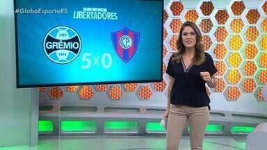 Globo Esporte RS - Bloco 1 - 02/05/2018 - Assista ao vídeo.