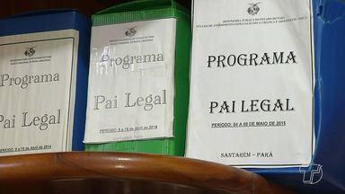 Programa 'Pai Legal' prestou mais de 200 atendimentos em Santarém - Dados da Defensoria Pública foram divulgados esta semana.