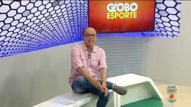Confira na íntegra o Globo Esporte CG desta quarta-feira (02.05.2018) - Marcos Vasconcelos comanda o programa direto de Campina Grande