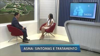 Quadro de saúde: tire dúvidas sobre a asma - Pneumologista Ennara Borges fala dos sintomas e tratamento da doença.