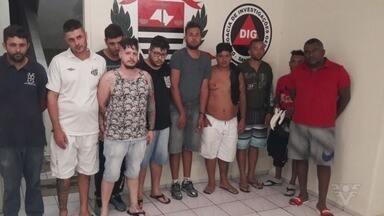 Quadrilha especializada em furto a agências bancárias é presa em Praia Grande - Grupo foi flagrado após invadir cofre de agência.