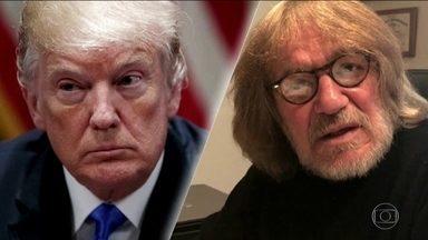 Trump se envolve em polêmica com médico pessoal - Ex-médico de Donald Trump acusa o presidente de ter ditado a carta em que atestava a boa saúde do então candidato à presidência dos Estados Unidos
