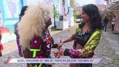 Gleici participa do novo clipe de Gaby Amarantos - Vencedora do BBB18 integrou o bonde das amigas no clipe de 'Sou Mais Eu'