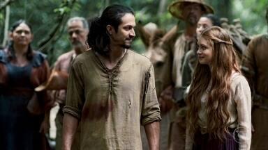Afonso e Amália organizam ida a Montemor - O Príncipe e a plebleia explicam ao povo que terão que fazer alguns sacrifícios