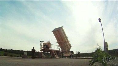 Forças iranianas baseadas na Síria respondem ataque de Israel - Eles lançaram misseis que atingiram o território israelense. Israel, por sua vez, contra-atacou agora há pouco.