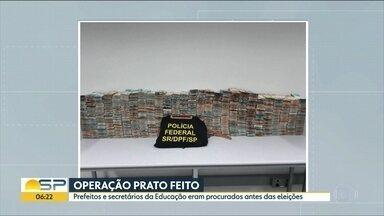 OPERAÇÃO PRATO FEITO - Polícia Federal Investiga fraude nas licitações de merenda em 15 municípios do estado. 85 pessoas são suspeitas de envolvimento no esquema.