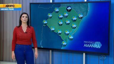 Tempo: sexta-feira (11) será de chuva no RS - Veja como fica a previsão.