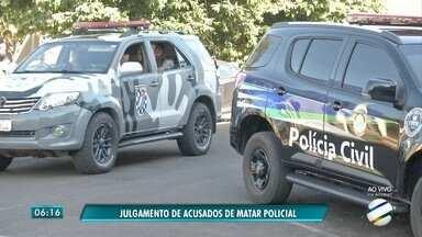 Três são condenados pela morte de policial militar em Três Lagoas - Julgamento foi quarta-feira (9). Há ainda outros 16 réus para serem julgados.