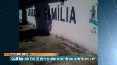 Após reportagem, prefeitura contratam merendeiras para Cmei em Goiânia - Crianças estavam sendo liberados mais cedo por falta de funcionários.
