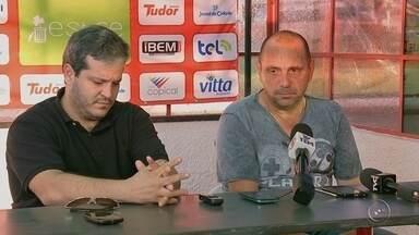Betão Alcântara é apresentado oficialmente no Noroeste - Betão chegou na equipe para disputar a Copa Paulista, que começa no segundo semestre do ano. Técnico garante que está muito feliz em assumir o Norusca.