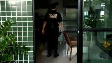 Polícia Federal faz operação contra suspeitos de desviar dinheiro público em Canapi - Foram cumpridos 11 mandados de busca e apreensão em Maceió, Canapi, Marechal Deodoro, Delmiro Gouveia e Tanque D'Arca.